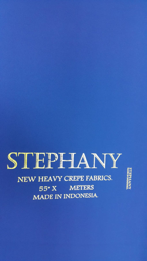 159211 STEPHANY CREPE DYED